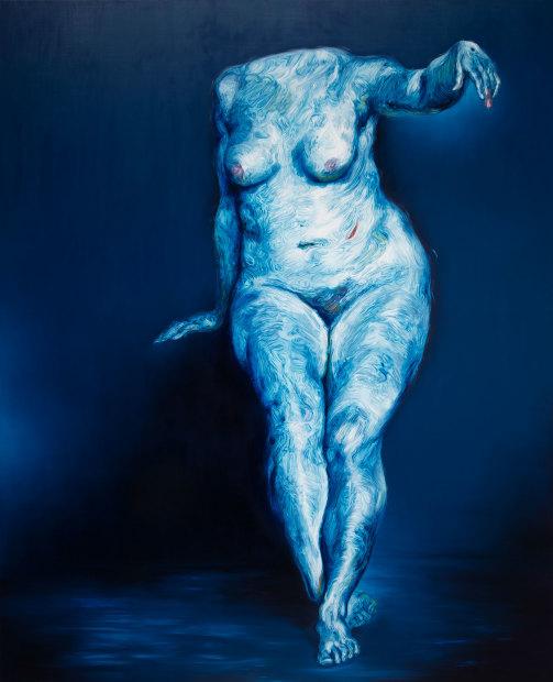 <span class=&#34;artist&#34;><strong>Glenn Brown</strong></span>, <span class=&#34;title&#34;><em>Die Mutter des K&#195;&#188;nstlers</em>, 2016</span>