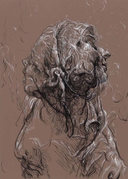 <span class=&#34;artist&#34;><strong>Glenn Brown</strong></span>, <span class=&#34;title&#34;><em>Torness One</em>, 2016</span>
