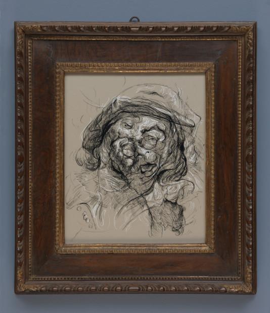 <span class=&#34;artist&#34;><strong>Glenn Brown</strong></span>, <span class=&#34;title&#34;><em>Drawing 24 (after Jordaens/Jordaens)</em>, 2017</span>