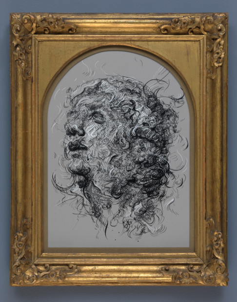 <span class=&#34;artist&#34;><strong>Glenn Brown</strong></span>, <span class=&#34;title&#34;><em>Drawing 3 (after Tiepolo/Tiepolo)</em>, 2017</span>