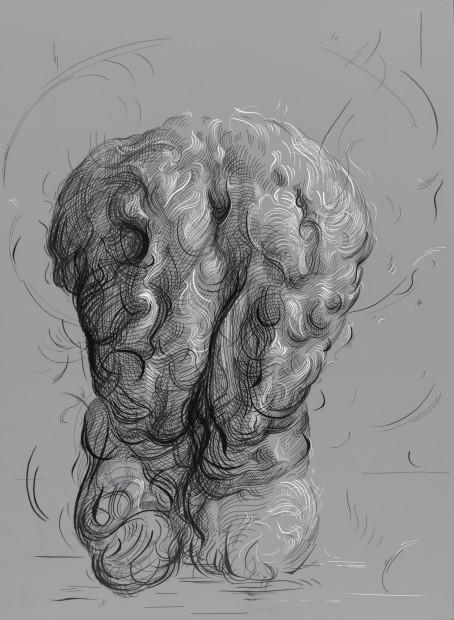 <span class=&#34;artist&#34;><strong>Glenn Brown</strong></span>, <span class=&#34;title&#34;><em>Drawing 5 (after Goltzius)</em>, 2017</span>