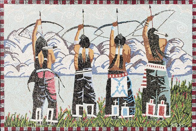 Crazy Arrow Mosaic