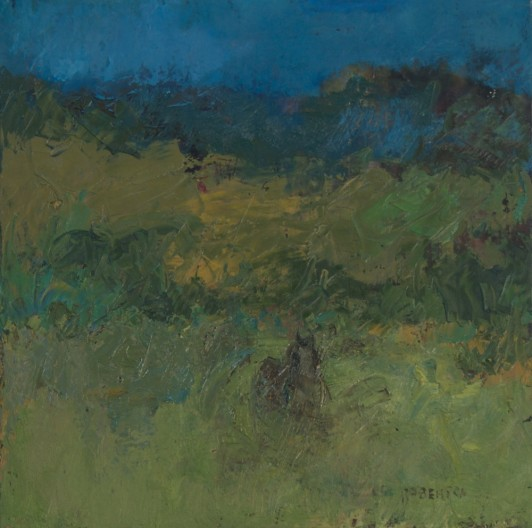 Mary Roberson, A Western Landscape