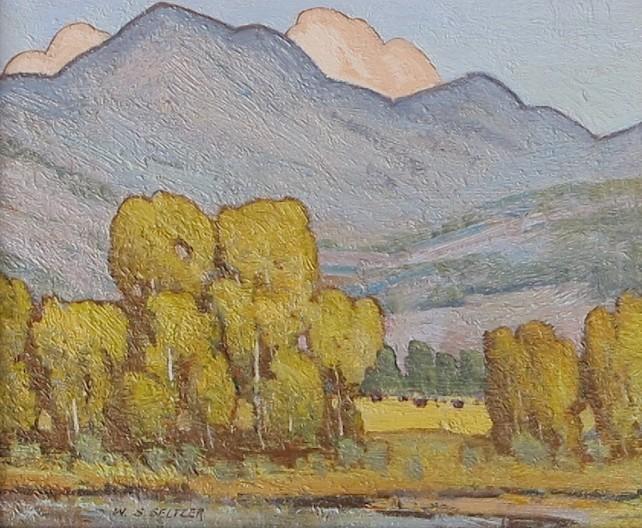 W. Steve Seltzer, Summer Pasture
