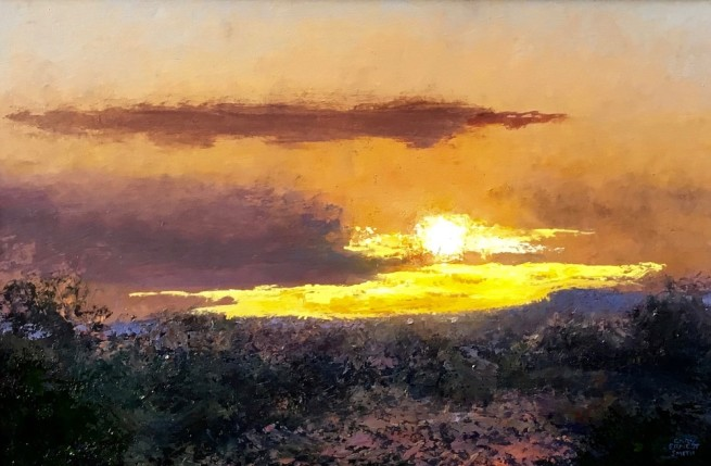 <span class=%22title%22>Quiet Desert Sundown</span>