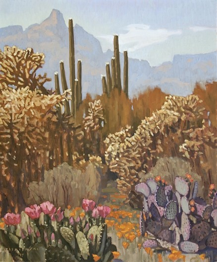 Dennis Ziemienski, Spring in the Desert