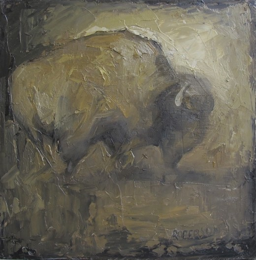 Mary Roberson, Bison 0288