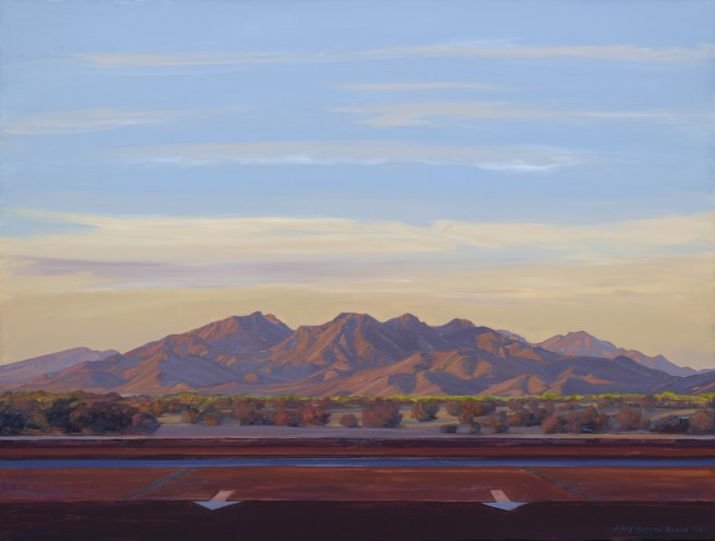 Mary-Austin Klein, Woolsey Peak, Gila Bend, AZ