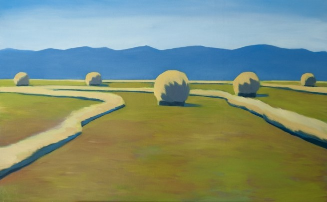 Travis Walker, South Park Hay Bales No. 3