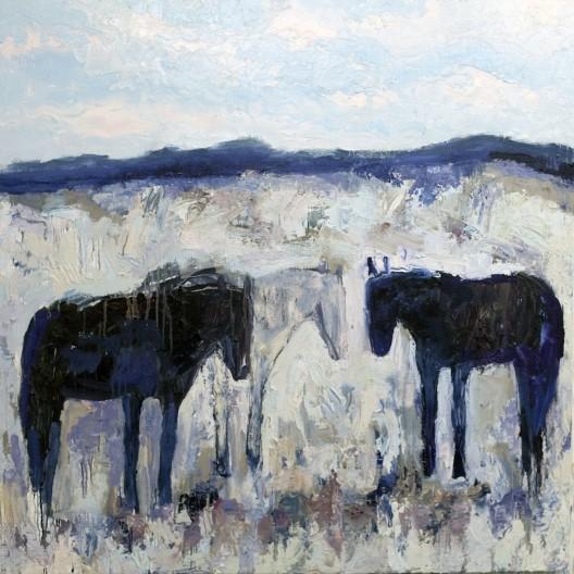 Theodore Waddell, Monida Horses #9