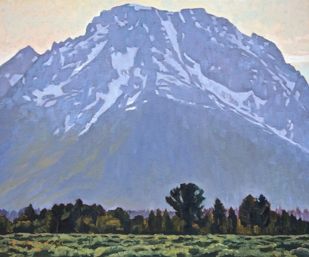 <span class=%22title%22>Shadow of the Mt. Moran</span>