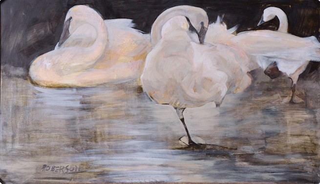 Mary Roberson, Solace (Swans)