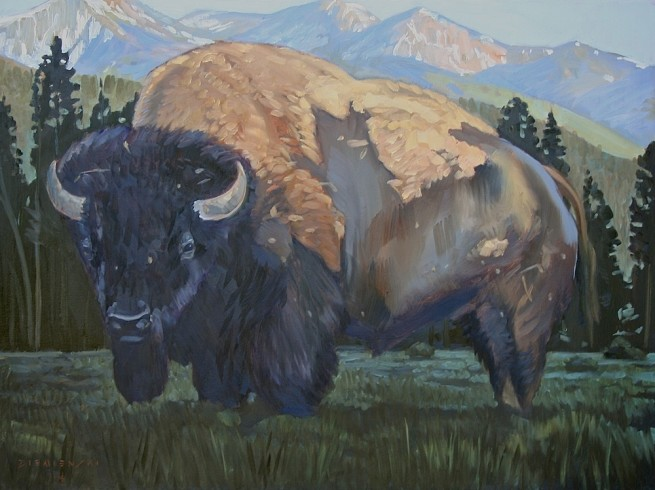 <span class=%22title%22>Yellowstone Bison</span>
