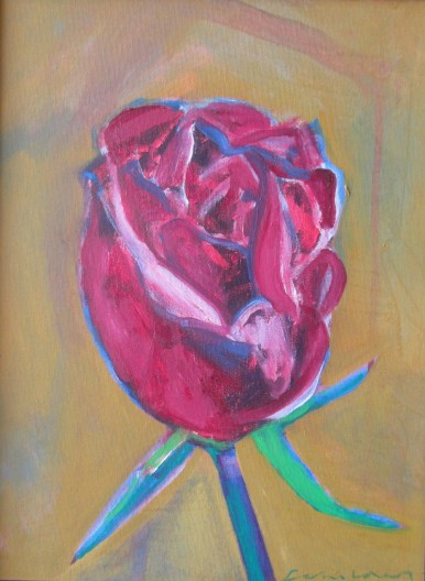 Fritz Scholder, Confined Rose, 2003