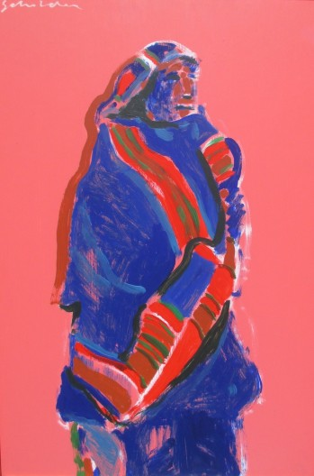 Fritz Scholder, Study: Taos Indian, 1972