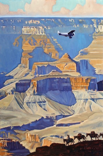 Dennis Ziemienski, Into the Canyon, Grand Canyon National Park