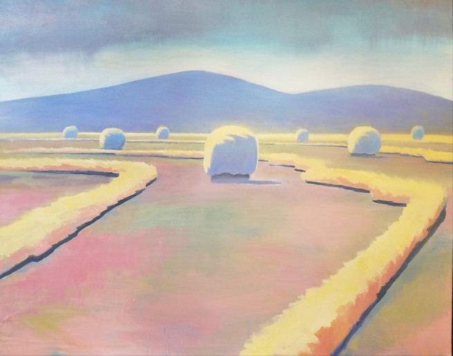 Travis Walker, South Park Hay Bales No. 5
