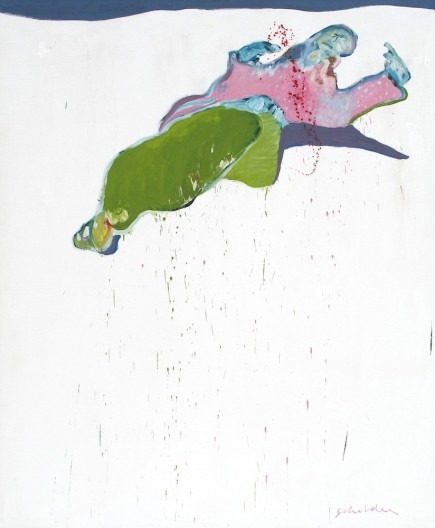 Fritz Scholder, Massacre at Wounded Knee No. 1, 1970