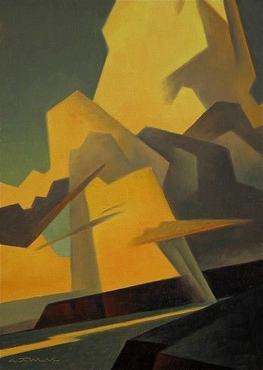 Ed Mell, Mesa Buildup