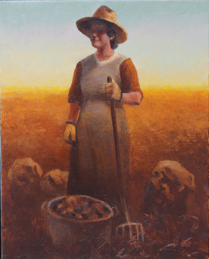 Gary Ernest Smith, Woman of the Field