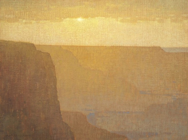Setting Sun Over the Grand Canyon