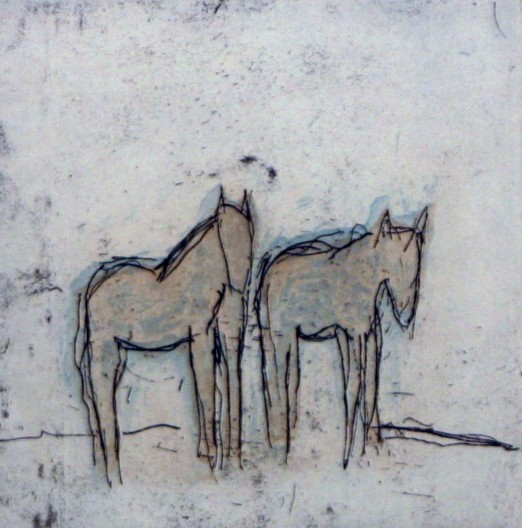Ruby River Horses I