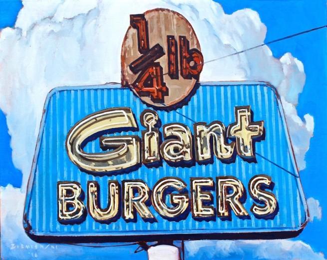 1/4 Giant Burgers
