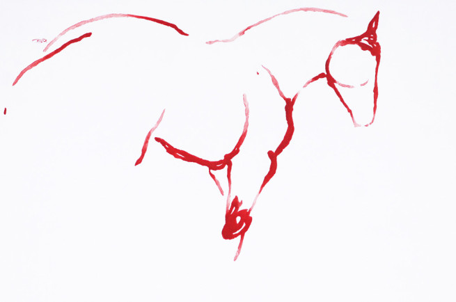 Red Horses by September Vhay, Red Horse 94