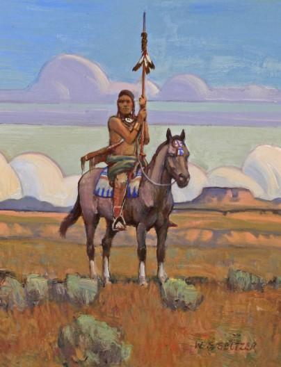 W. Steve Seltzer, A Buffalo Scout