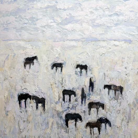 Theodore Waddell, Rapelje Horses #3