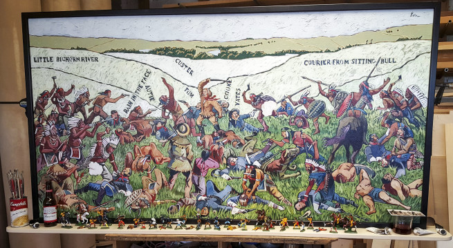 Custer's Last Stand; After Becker