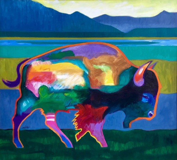 John Nieto, Buffalo in the Foothills
