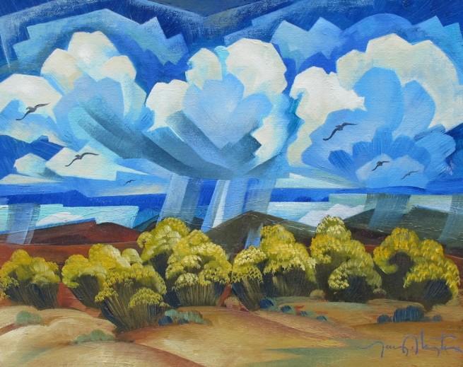 Tony Abeyta, Taos Landscape