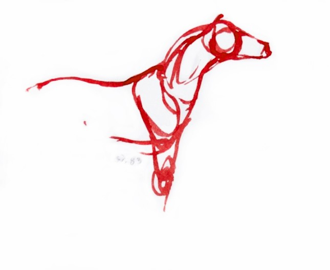 Red Horses by September Vhay, Red Horse 83