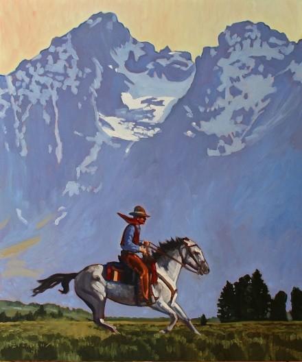 Dennis Ziemienski, Teton Horseman