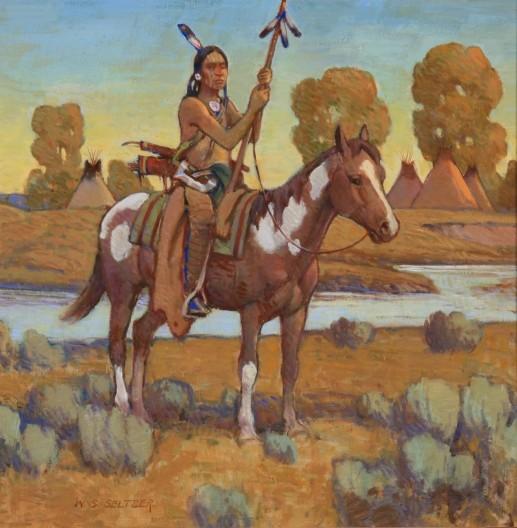 W. Steve Seltzer, Medicine Horse