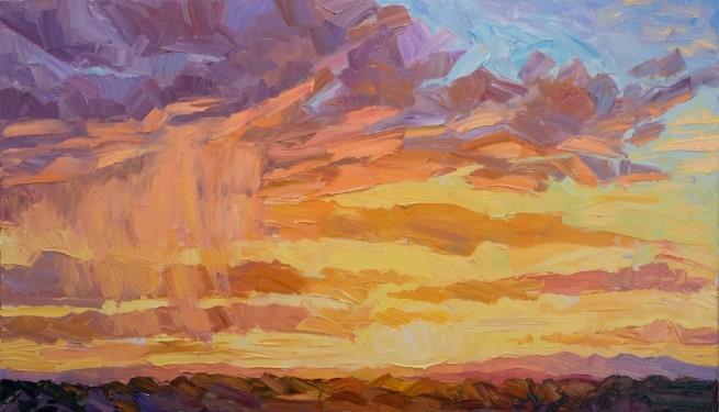 Jivan Lee, Santa Fe Sunset # 1