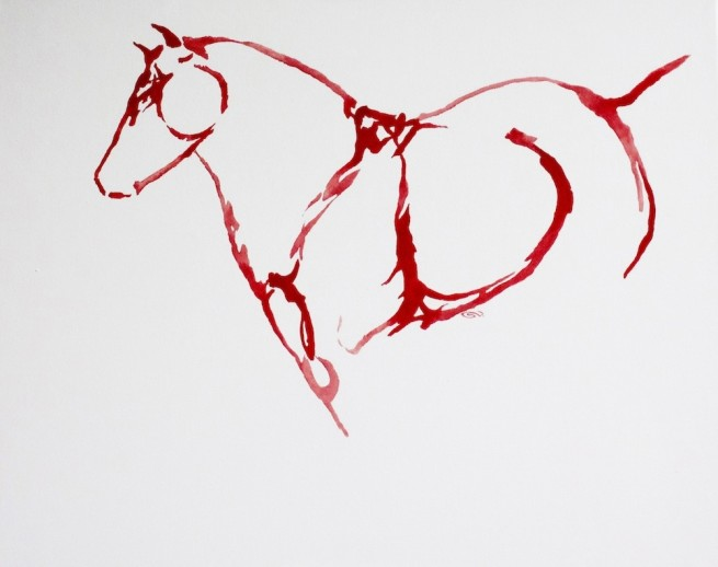 Red Horses by September Vhay, Red Horse 26
