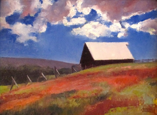 Gary Ernest Smith, Barn on the Hill
