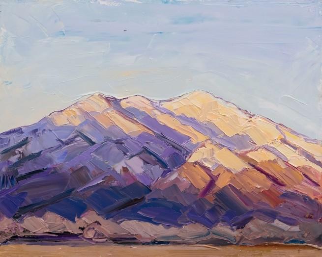 Jivan Lee, Taos Mountain, Day's End