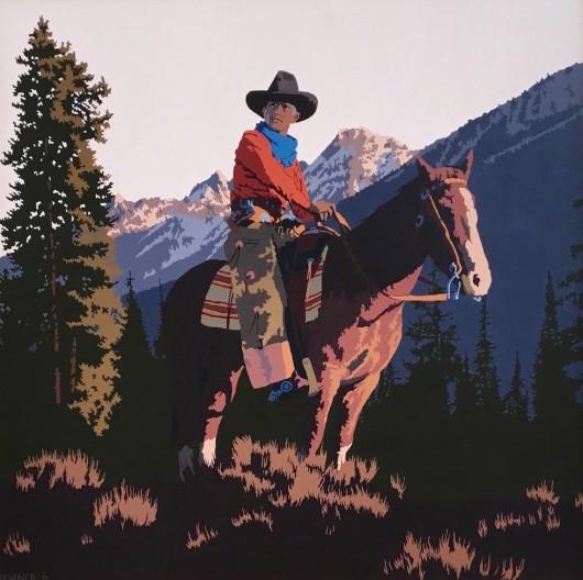 Billy Schenck, Under the Ramparts of the Tetons