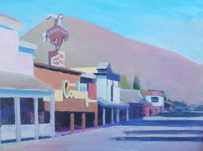 Travis Walker, Cowboy Bar, Looking North