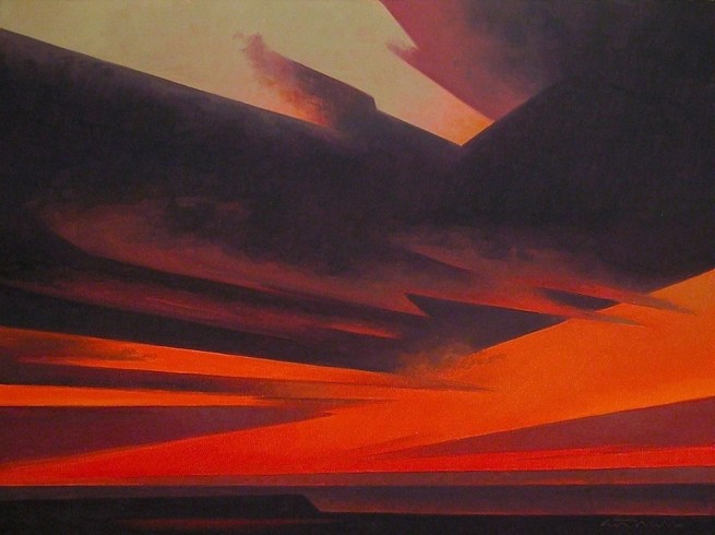 Ed Mell, Evening Red