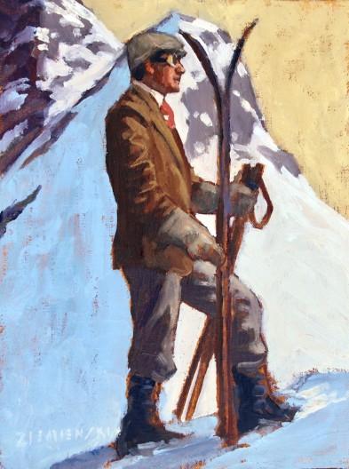 Dennis Ziemienski, Gentleman Skier