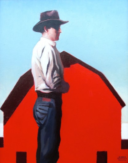 Gary Ernest Smith, Man with Red Barn