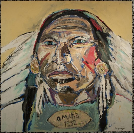 Ira Yeager, Indian Portrait #14108