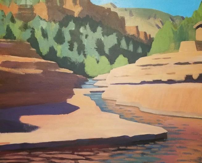 Travis Walker, Slide Rock State Park No. 2