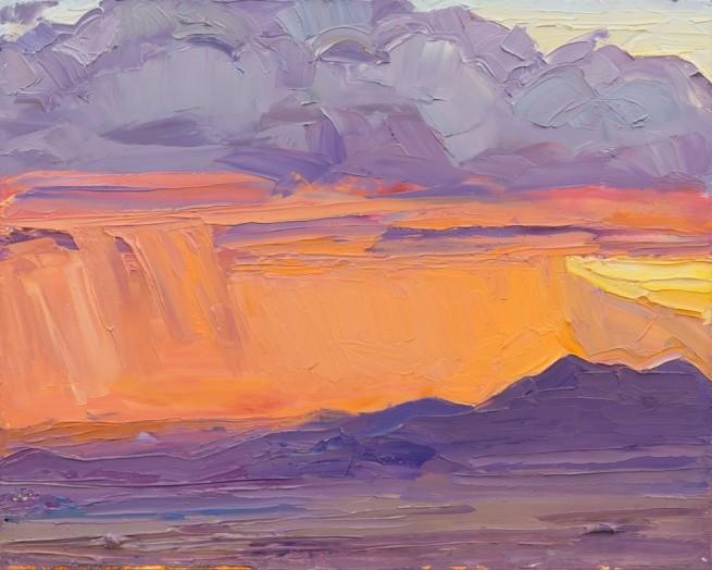 Jivan Lee, A Storm in the Sunset Light