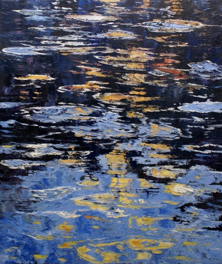 James Pringle Cook, Red Horse- Reflections
