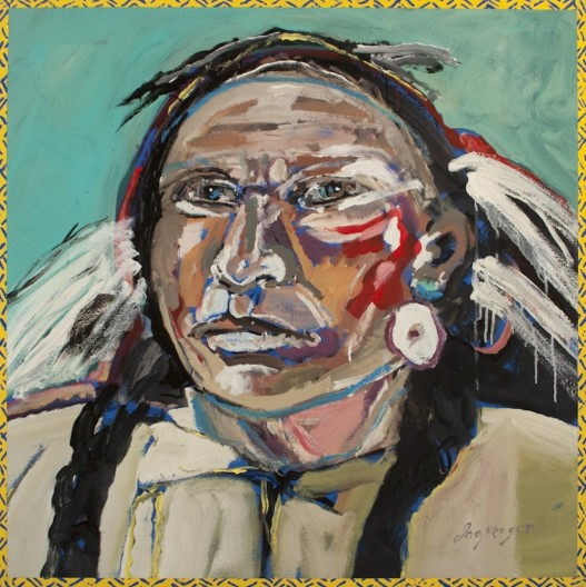 Ira Yeager, Indian Portrait #14136